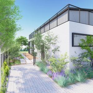 OO동 주택 정원설계
